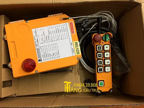 Điều khiển cầu trục Telecrane F24-8D
