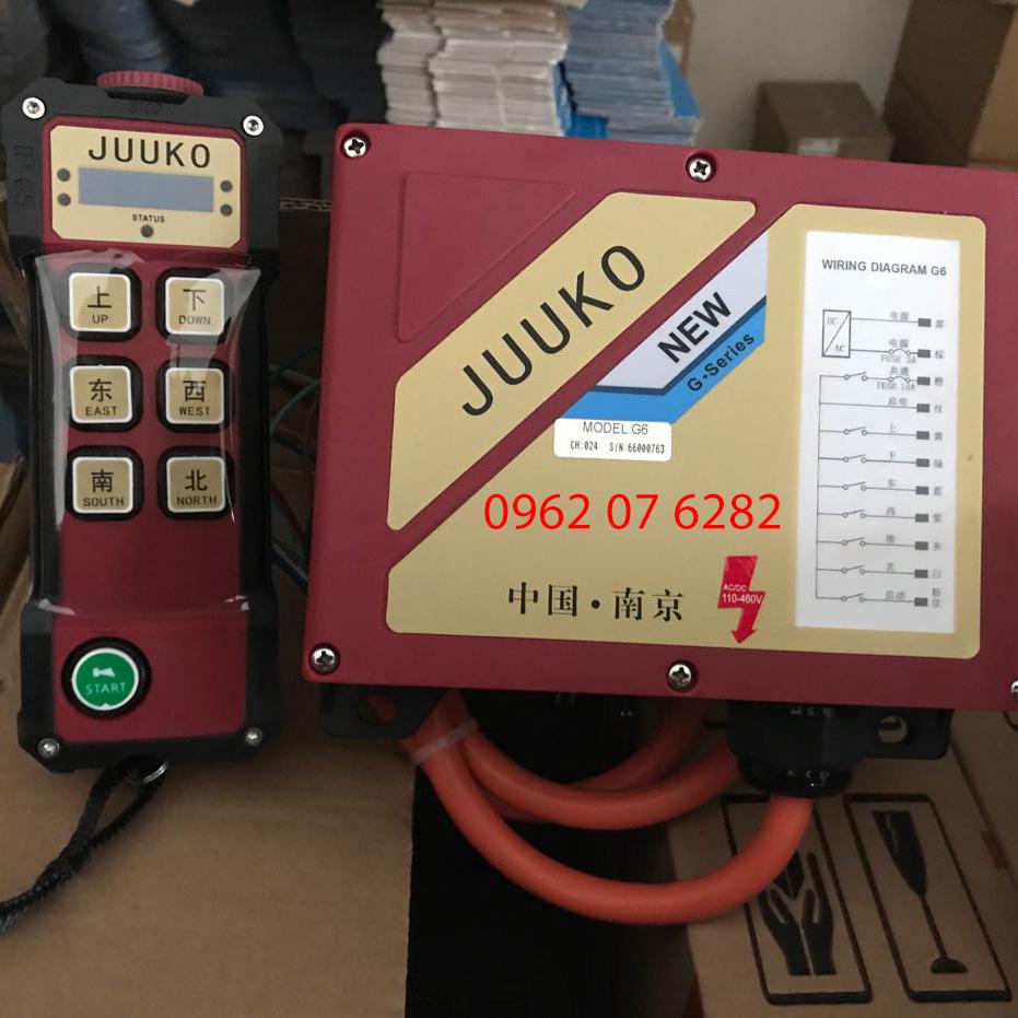 Điều khiển cầu trục từ xa Juuko G6