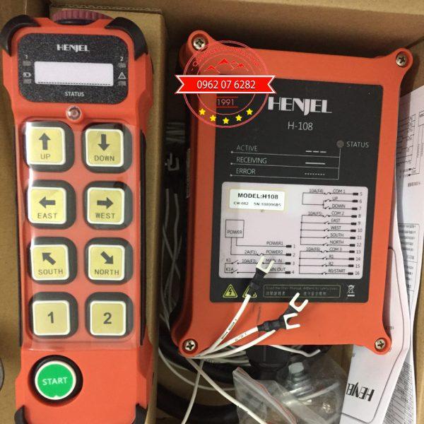 Bộ điều khiển cầu trục từ xa Henjel-H108