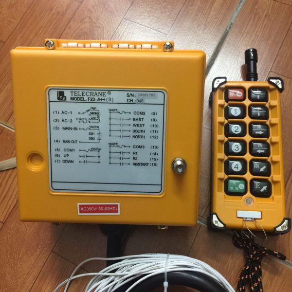 Điều khiển cầu trục từ xa telecrane F23-A++