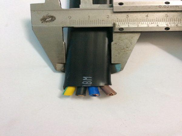 Dây cáp điện dẹt cầu trục shentai 4Cx4 mm2 (2)