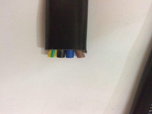 Dây cáp điện dẹt cầu trục shentai 4Cx4 mm2